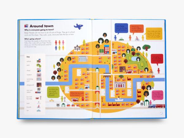 Inside OKIDO book my big world