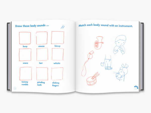 inside book drawing games