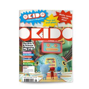 OKIDO children's science magazine issue 45 Robots