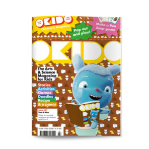 OKIDO children's science magazine issue 47 poo and wee