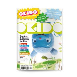 OKIDO magazine spring front cover