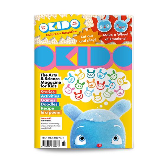 OKIDO children's science magazine issue 43 Emotions