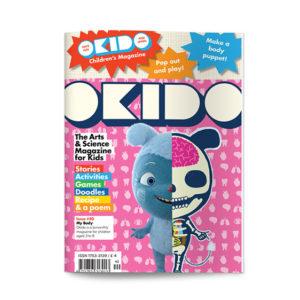 OKIDO children's science magazine issue 40 My body