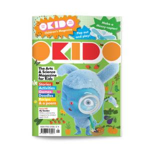 OKIDO children's science magazine issue 41 My garden