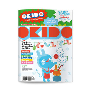 OKIDO children's science magazine issue 38 Food