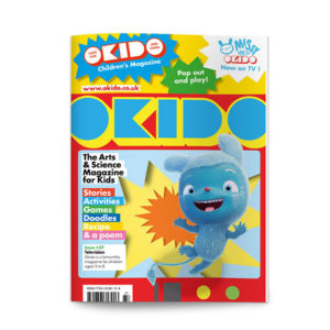 OKIDO children's science magazine issue 37 Television