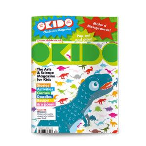 OKIDO children's science magazine issue 34 Dinosaurs