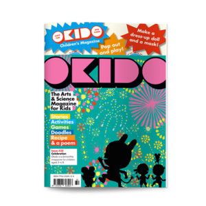 OKIDO children's science magazine issue 32 Celebrate