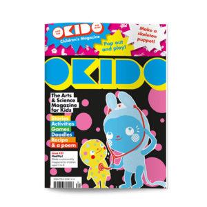 OKIDO children's science magazine issue 31 Healthy