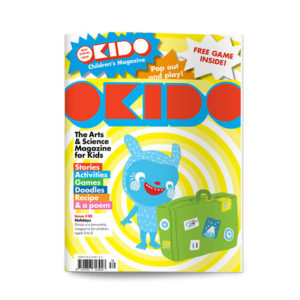 OKIDO children's science magazine issue 30 Holidays