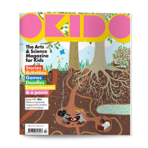 OKIDO children's science magazine issue 17 dirt