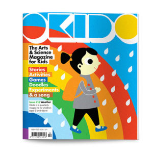 OKIDO children's science magazine issue 16 weather