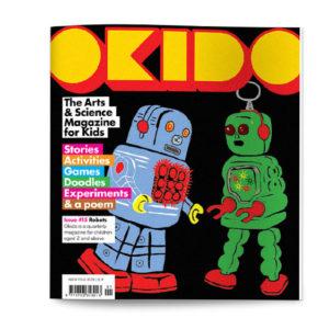 OKIDO children's science magazine issue 15 robots