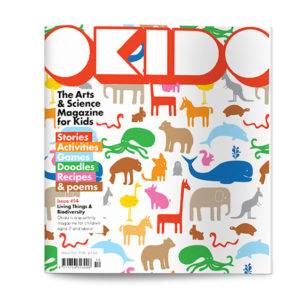 OKIDO children's science magazine issue 14 living things