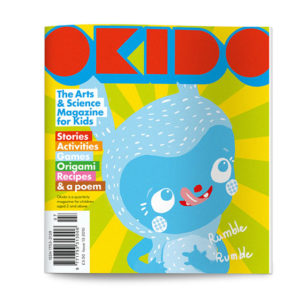 OKIDO children's science magazine issue 13 body noises