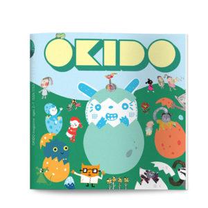 OKIDO children's science magazine issue 12 babies
