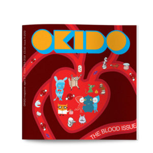 OKIDO science children's magazine issue 11 the heart