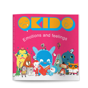 OKIDO children's science magazine issue 10 emotions edition