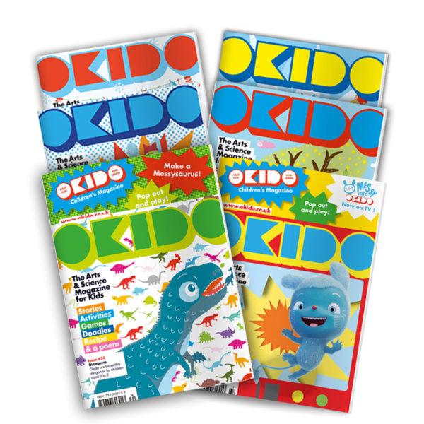 OKIDO children's magazine bundle