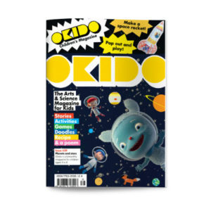 OKIDO children's science magazine issue 39 Planets and Stars