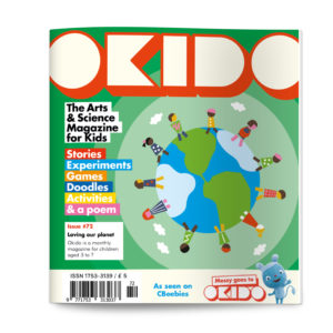 OKIDO Magazine issue 72 cover