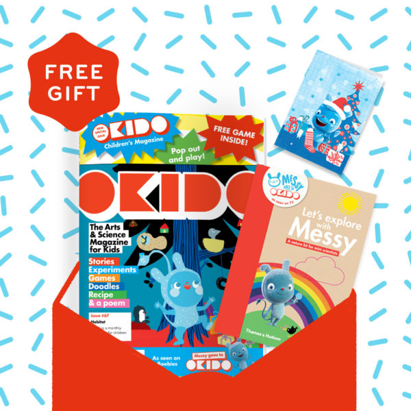 OKIDO Christmas Subscription with free gift