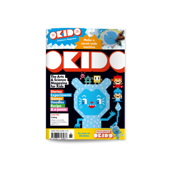 OKIDO Magazine Subscription Coding Cover