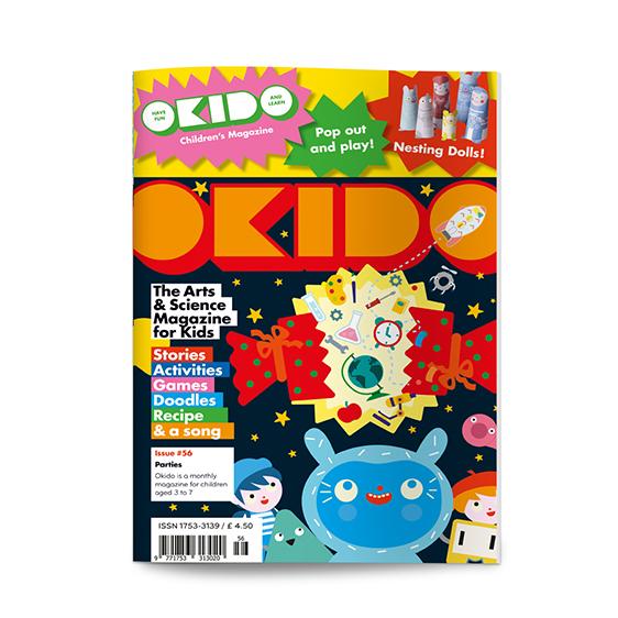 OKIDO childrens science magazine parties edition