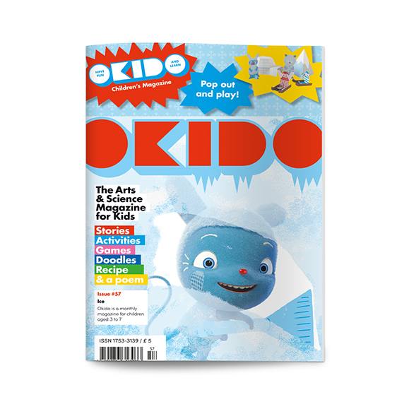 OKIDO childrens science magazine ice edition