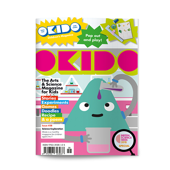 OKIDO science magazine science exploration edition