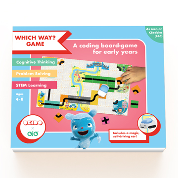 OKIDO Which Way Board Game Box