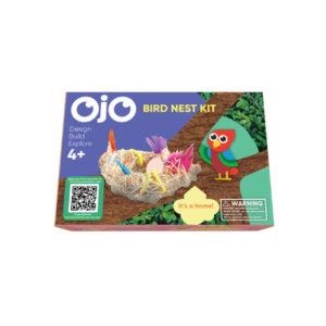 The front of the OjO Bird Nest Kit