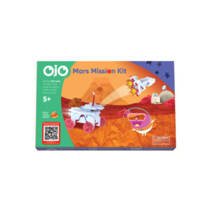 The front of the OjO Mars Mission kit