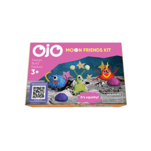 The front of the OjO Moon Friends Kit