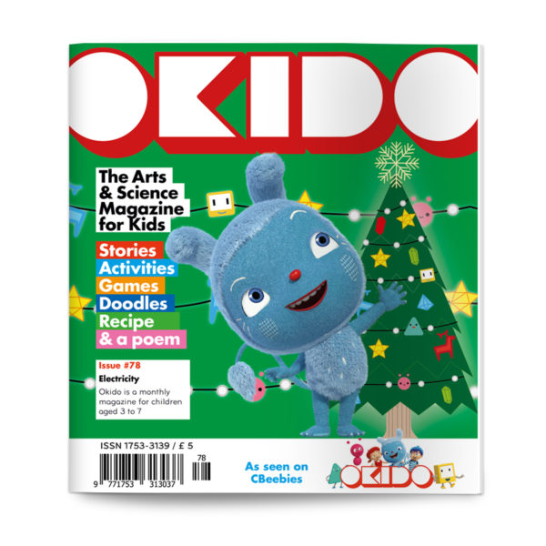 OKIDO magazine issue 78 cover