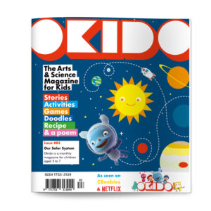 OKIDO magazine issue 83 SOLAR SYSTEM