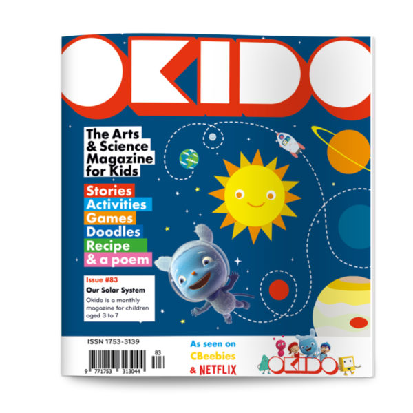 OKIDO magazine issue 83 SOLAR SYSTEM