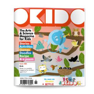OKIDO Magazine Issue 85 BIRDS