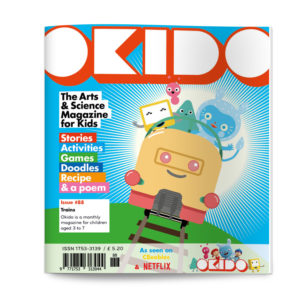 OKIDO magazine issue 88 TRAINS