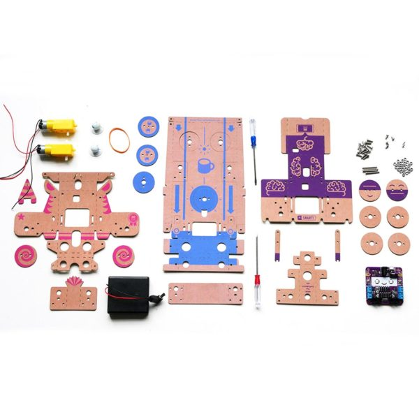 OKIDO Crafty Robot Contents