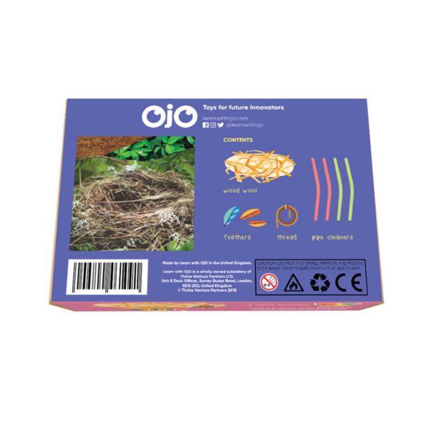 OKIDO OjO Birds Nest Kit Back View