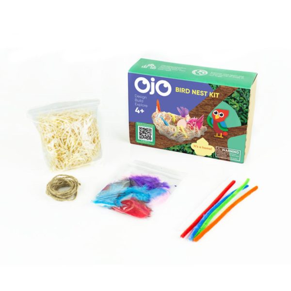 OKIDO OjO Birds Nest Contents