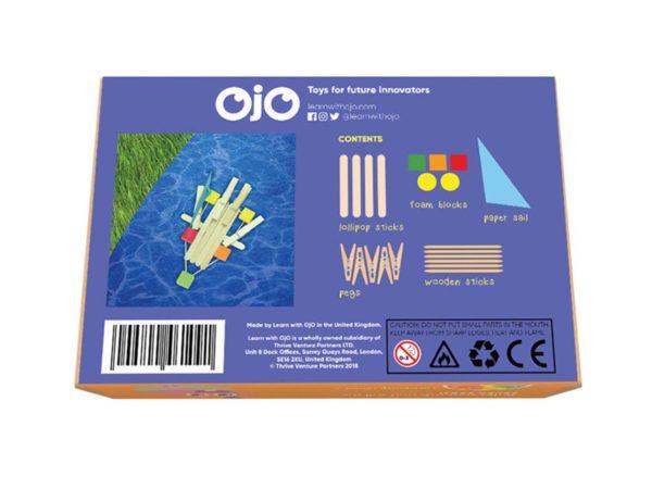 OKIDO OjO Raft Kit Back