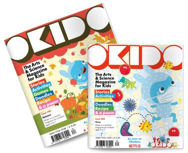 OKIDO magazine Seasons and Virus Issues
