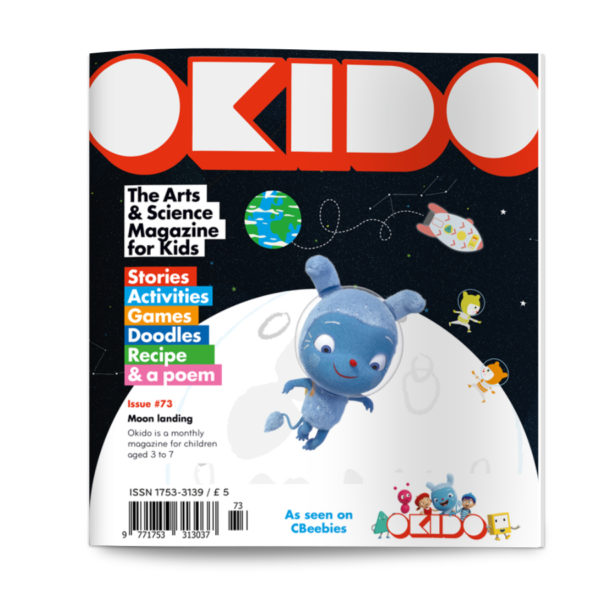 OKIDO ISSUE 73 COVER MOON LANDING