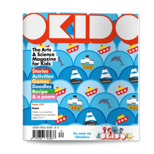 OKIDO magazine issue 74: Boats