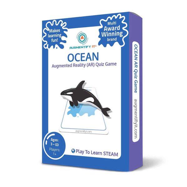 AugmentifyIt Ar Ocean Card Deck Front View