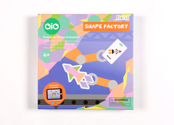 shape factory geometry board game front