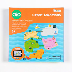 OjO Story Creations Storytelling Board Game Front