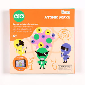 Atomic Force Chemistry Board Game Front